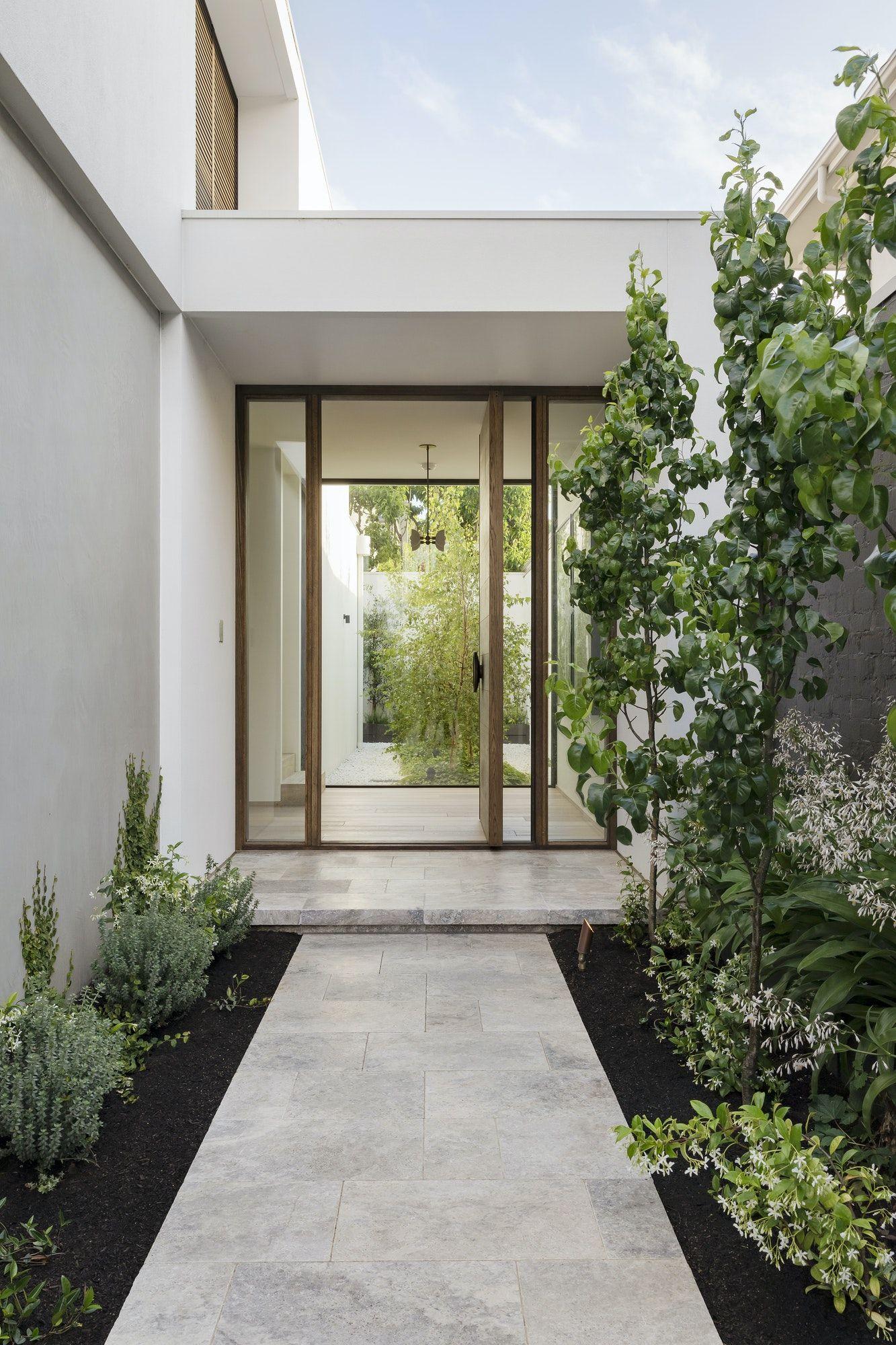 Architectural House Exterior Door